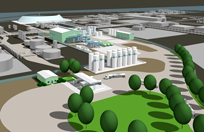 Pittsburg, California Plant Rendering